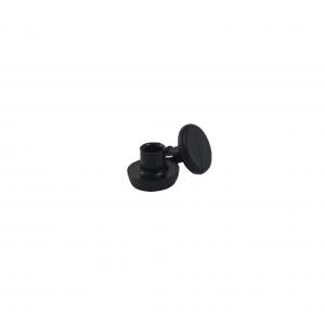 Spinki czarne do kuwet plastikowych