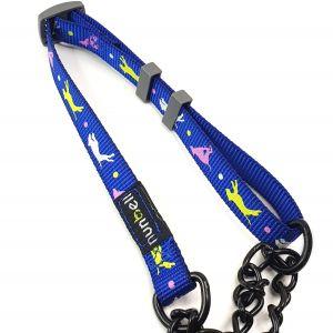 Obroża dla psa niebieska S 24-40cm