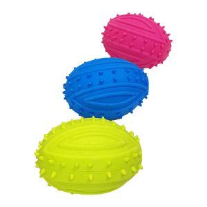 Piszcząca piłka dla psa zielona