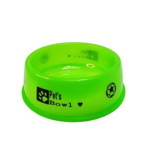 Miska dla zwierząt neon 12cm zielona