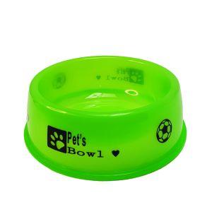 Miska dla zwierząt neon 15cm zielona