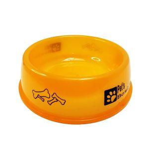 Miska dla zwierząt neon 15cm pomarańczowa