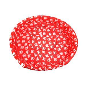 Legowisko dla zwierząt czerwone XXL 46/52cm
