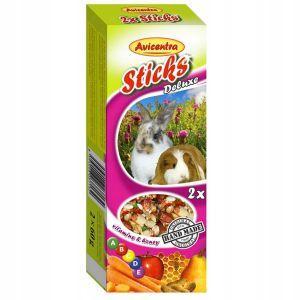 Kolby dla królików świnek szynszyli: witaminy miód