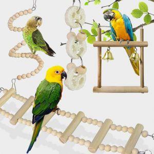 Akcesoria dla papug Zestaw 8 elementów