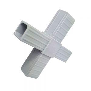 Łącznik plastikowy do profili aluminiowych typ X 20x20x1,5mm