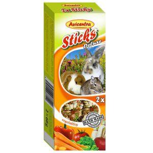 Sticks Deluxe Króliki i Gryzonie: warzywa