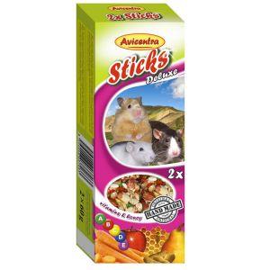 Sticks Deluxe Mały Gryzoń: witaminy + miód