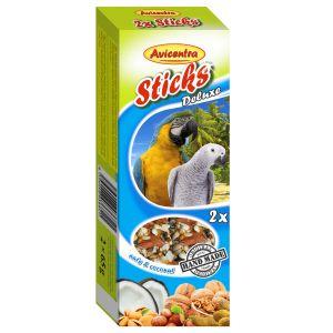 Sticks Deluxe Wielka Papuga: kokos + orzechy