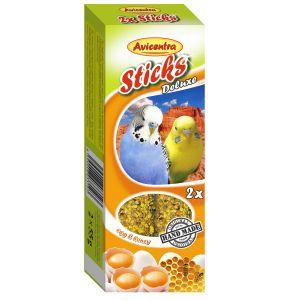Sticks Deluxe Papużka Falista: jajka + miód