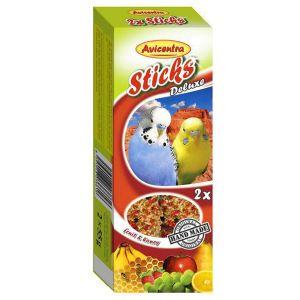 Sticks Deluxe Papużka Falista: owoce + miód