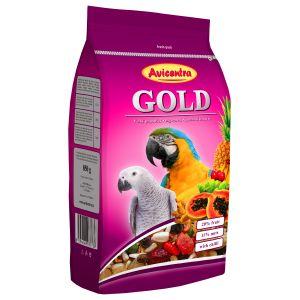 Duża papuga GOLD 850g